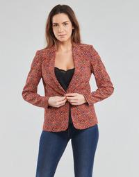 Textil Mulher Casacos/Blazers One Step VINNY Vermelho / Multicolor