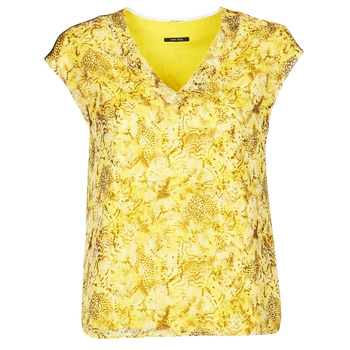 Textil Mulher Tops / Blusas One Step CALI Amarelo