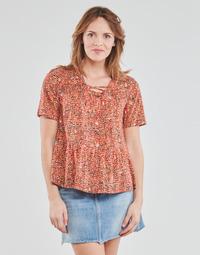 Textil Mulher Tops / Blusas One Step CARA Vermelho / Multicolor