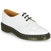 Sapatos Mulher Sapatos Dr Martens 1461 Branco