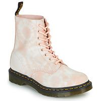 Sapatos Mulher Botas baixas Dr Martens 1460 PASCAL Bege