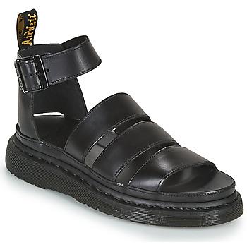 Sapatos Mulher Sandálias Dr Martens CLARISSA II Preto
