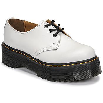Sapatos Mulher Sapatos Dr Martens 1461 QUAD Branco