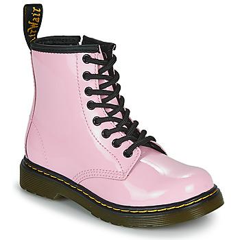 Sapatos Rapariga Botas baixas Dr Martens 1460 J Rosa