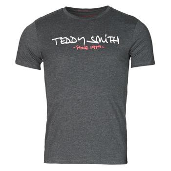 Textil Homem T-Shirt mangas curtas Teddy Smith TICLASS Cinza / Escuro