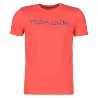 Textil Homem T-Shirt mangas curtas Teddy Smith TICLASS Vermelho