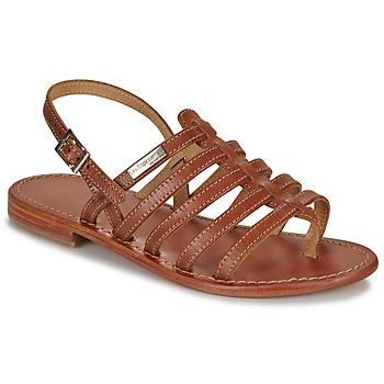 Sapatos Mulher Sandálias Les Tropéziennes par M Belarbi HERISSON Castanho