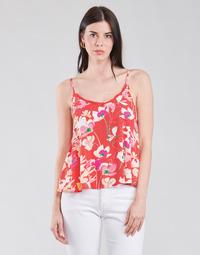 Textil Mulher Tops / Blusas Rip Curl SUGAR BLOOM SINGLET Vermelho