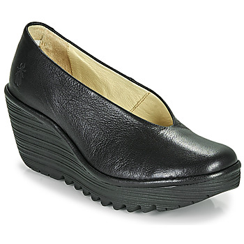 Sapatos Mulher Escarpim Fly London YAZ Preto