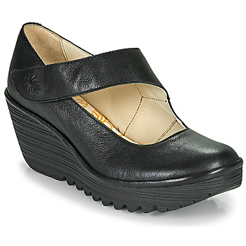 Sapatos Mulher Escarpim Fly London YASI Preto