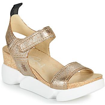 Sapatos Mulher Sandálias Fly London SENA Ouro