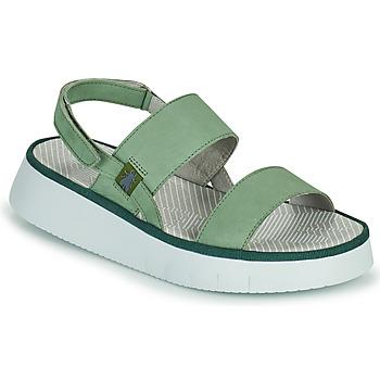 Sapatos Mulher Sandálias Fly London CURA Verde