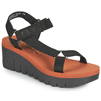 Sapatos Mulher Sandálias Fly London YEFA Preto