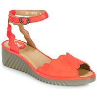 Sapatos Mulher Sandálias Fly London LUME Vermelho