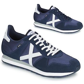 Sapatos Homem Sapatilhas Munich MASSANA 433 Azul