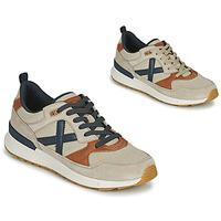 Sapatos Homem Sapatilhas Munich ALPHA 49 Bege / Azul