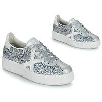 Sapatos Mulher Sapatilhas Munich BARRU SKY 65 Prata / Branco