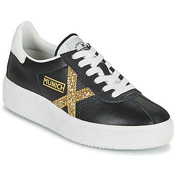 Sapatos Mulher Sapatilhas Munich BARRU SKY 62 Preto / Ouro