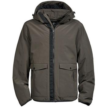 Textil Homem Parkas Tee Jays TJ9604 Azeitona escura
