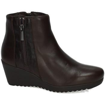 Sapatos Mulher Botins Moda Bella  Castanho