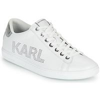 Sapatos Mulher Sapatilhas Karl Lagerfeld KUPSOLE II KARL PUNKT LOGO LO Branco