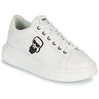 Sapatos Mulher Sapatilhas Karl Lagerfeld KAPRI KARL IKONIC LO LACE Branco