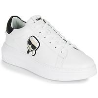 Sapatos Homem Sapatilhas Karl Lagerfeld KAPRI MENS KARL IKONIC 3D LACE Branco