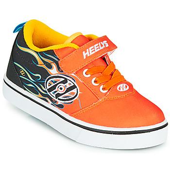 Sapatos Rapaz Sapatilhas com rodas Heelys PRO 20 X2 Preto / Laranja