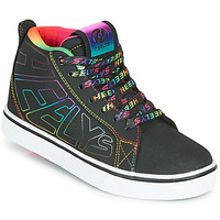 Sapatos Rapariga Sapatilhas com rodas Heelys RACER 20 MID Preto / Multicolor