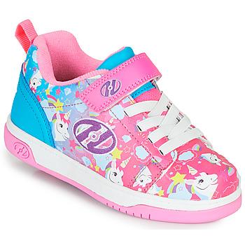 Sapatos Rapariga Sapatilhas com rodas Heelys DUAL UP X2 Rosa / Azul