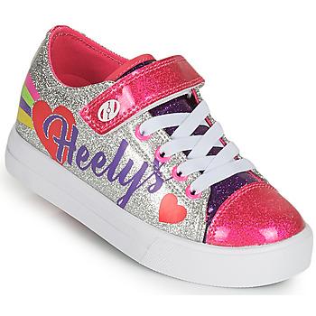 Sapatos Rapariga Sapatilhas com rodas Heelys SNAZZY X2 Prata / Multicolor