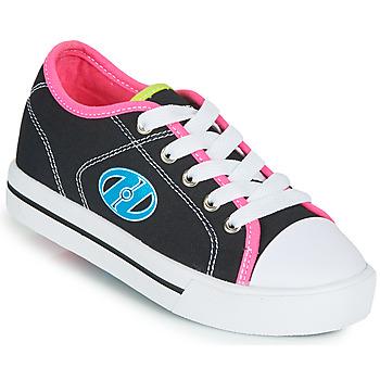 Sapatos Rapariga Sapatilhas com rodas Heelys CLASSIC X2 Preto / Rosa / Azul
