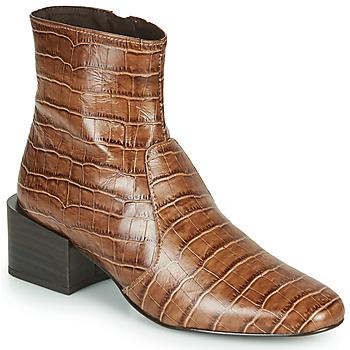 Sapatos Mulher Botins Jonak BABOU Castanho