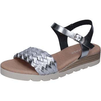 Sapatos Mulher Sandálias Rizzoli Sandálias BK606 Prata