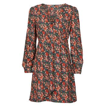 Textil Mulher Vestidos curtos Betty London NOMIM Preto / Vermelho