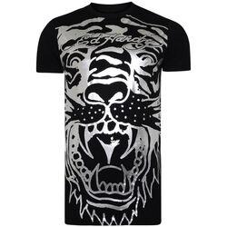 Textil Homem T-Shirt mangas curtas Ed Hardy - Big-tiger t-shirt Preto