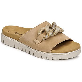 Sapatos Mulher Chinelos Gabor 6374314 Caramelo