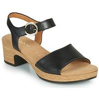 Sapatos Mulher Sandálias Gabor 6272157 Preto
