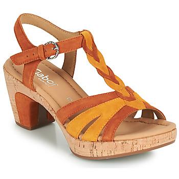 Sapatos Mulher Sandálias Gabor 6273442 Conhaque