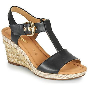 Sapatos Mulher Sandálias Gabor 6282457 Preto