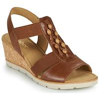 Sapatos Mulher Sandálias Gabor 6575024 Castanho