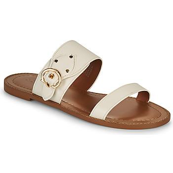 Sapatos Mulher Chinelos Coach HARLOW Marfim