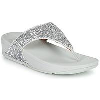 Sapatos Mulher Chinelos FitFlop LULU GLITTER Prata