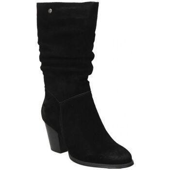 Sapatos Mulher Botas Top3 BOTAS  20818 MODA JOVEN NEGRO Noir