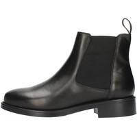 Sapatos Mulher Botins Frau 98L3 Preto