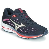 Sapatos Mulher Sapatilhas de corrida Mizuno WAVE RIDER 24 Violeta / Rosa