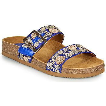 Sapatos Mulher Chinelos Desigual ARIES EXOTIC Azul
