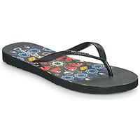 Sapatos Mulher Chinelos Desigual FLIP FLOP BUTTERFLY Preto