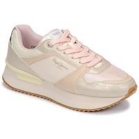Sapatos Mulher Sapatilhas Pepe jeans RUSPER EVE Rosa / Leopardo