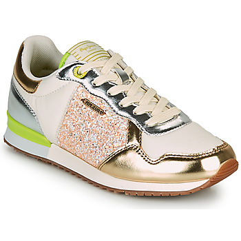Sapatos Mulher Sapatilhas Pepe jeans ARCHIE CUTE Ouro / Verde